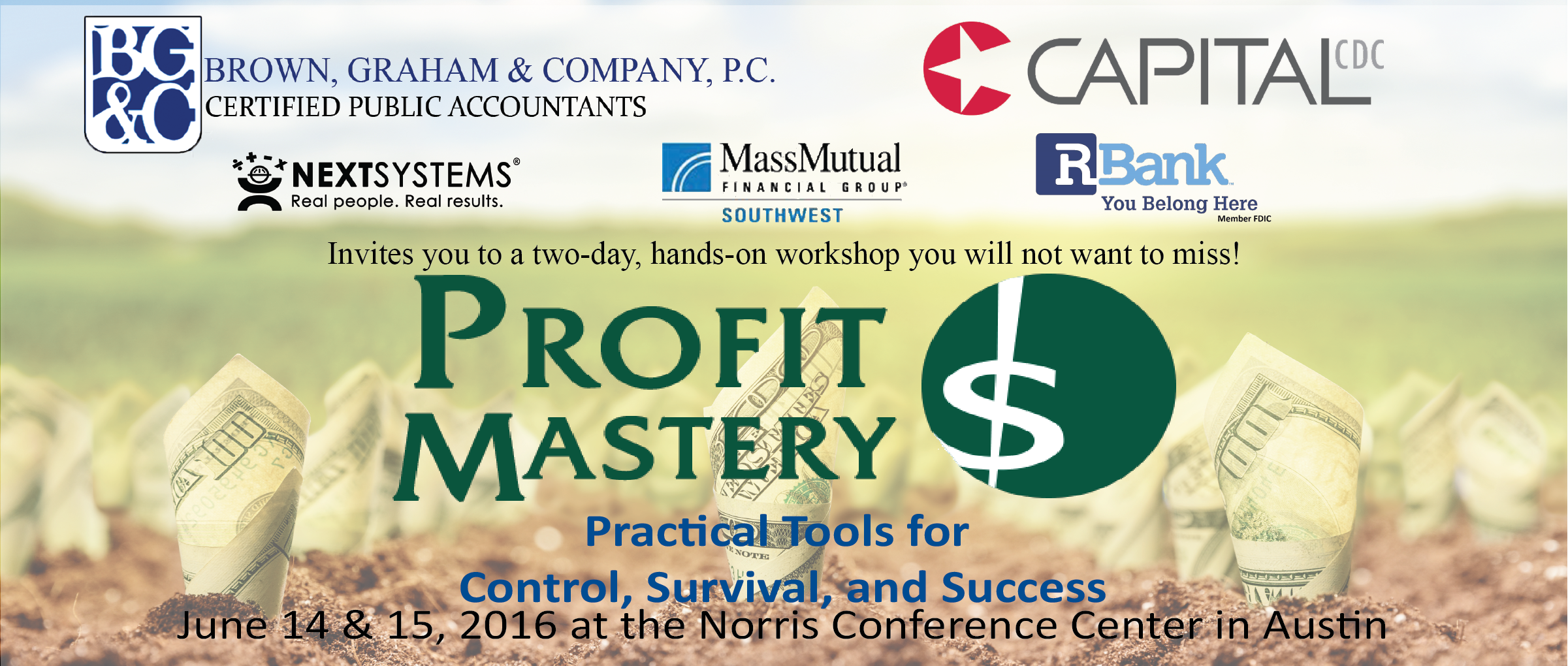Spring 2016 Profit Master Workshop